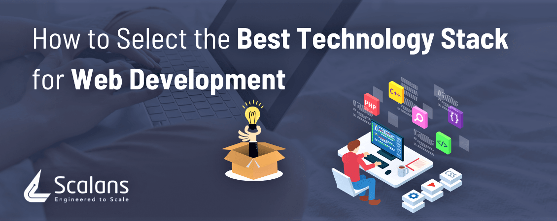 How to Select the Best Technology Stack for Web Development -1150x450